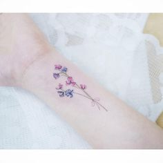 Watercolor Tattoos Korean Style