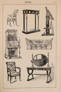 Hey, I found this really awesome Etsy listing at https://www.etsy.com/listing/237871015/british-empire-furniture-designs-large