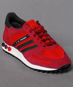 Aktuell bei Numelo: der Adidas LA Trainer W in Red http://www.numelo.com/adidas-la-trainer-w-p-24488879.html #adidas #latrainerw #sneaker #laufschuhe #numelo