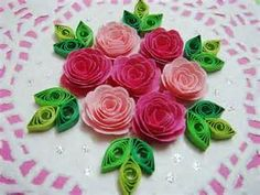 134 Best Quilling Roses Images Quilling Quilling Flowers Paper