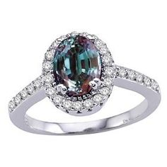 2.00 cts  Alexandrite Alexandrite Jewelry, Birth Flowers, Bling Bling, Sparkles, Birthstones, Diamond Engagement Rings, Claire, Jewlery, Bedding