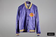 Authentic OG Los Angeles Lakers Varsity Jacket