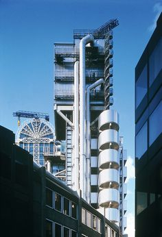 Richard Rogers. Lloyds of London also known as the inside out building