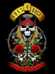 Rock Chic, Glam Rock, Rock And Roll, Pop Rock, Rock Band Posters, Rock Band Logos, Heavy Metal Rock, Heavy Metal Music, Axl Rose