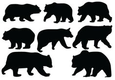 Bear Silhouette Vector - Quality Vector SilhouetteSilhouette Clip Art