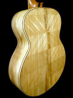 """Blueberry """"Floral"""" Motif Acoustic Guitar"""