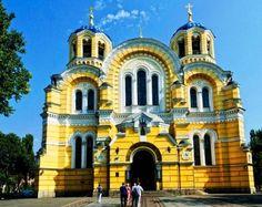 Vladimir Cathedral, Kiev, Ukraine | St. Vladimir Cathedral - Orthodox Church images. Vladimir Cathedral. This main temple of the Ukrainian Orthodox Church was erected in honor of Prince Vladimir, the Baptist of Russia.