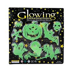 $3.99  - Halloween Noctilucent Wall Art Sticker Glow In The Dark Room Decal DIY Home Decoration -- Learn more by visiting the image link. (This is an affiliate link) #WallStickersMurals