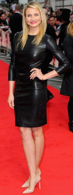 Cameron Diaz at the London premiere of The Other Woman.