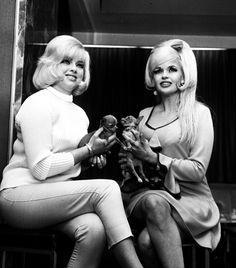 Diana Dors and Jayne Mansfield