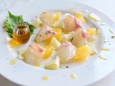 #青山金魚 #recipe 和イタリアン風のおしゃれな一品に。 Pasta Salad, Cantaloupe, Potato Salad, Potatoes, Japanese, Fruit, Ethnic Recipes, Food, Essen