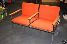 Orange Waiting Room Chairs
