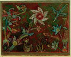 """Paul Klee """"Kreuz– und Spiralblüten"""" 31 x 23 cm 1"""
