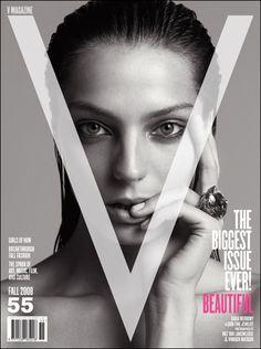 V Magazine Daria Werbowy cover