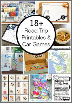 Road Trip Printables and Car Games for Kids - Buggy and Buddy - Awesome resource for upcoming trips! Free Road Trip Printables & Car Games for Kids) - Road Trip Activities, Road Trip Games, Activities For Kids, Road Trip With Kids, Family Road Trips, Travel With Kids, Family Travel, Car Games For Kids, On The Road Again