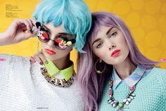 Fashion Editorial: Hey Funky Bunny