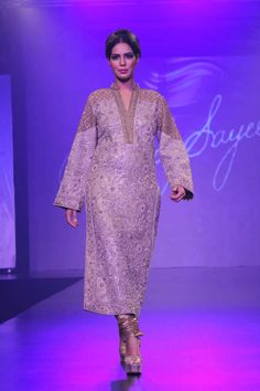 Umar Sayeed Collection at Shaan-E-Pakistan Fashion Show 2015 - Pakistani fashion dresses - Fashion in Pakistan | Maram Fashions