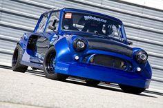 1975 Mini Cooper Mini Cooper S, Mini Cooper Tuning, Mini Cooper Classic, Classic Mini, Classic Cars, Drag Racing, Dirt Track Racing, Mini Morris, Reverse Trike