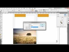 This tutorial shows how to create and use master pages in Adobe InDesign (CS5 but will work in other versions including CS3, CS4, CS6, etc.)...