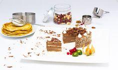 Crepes-Schokolade-Torte