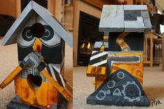 Wall-e Birdhouse