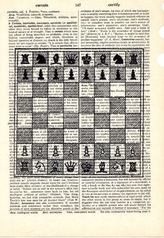 Chess page border with black and white chess pieces. Free ...