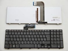 HUN Backlit Billentyűzet Hungarian Keyboard for Dell N7110 7720, XPS L702X, 3750