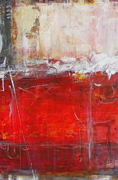 "art journal - expression through abstraction — Amy Longcope, ""Virtue"", mixed media on canvas"