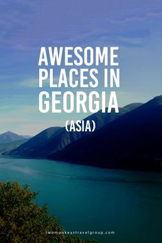 Awesome Places in Georgia (Asia) Georgia is a country in the Caucasus region of Eurasia. It is located at the crossroads of Western Asia and Eastern Europe. It is bounded to the West by the Black Sea, to the North by Russia, to the South by Turkey and Armenia, and to the Southeast by Azerbaijan. (Wikipedia).
