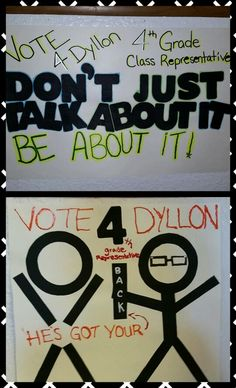 Student Council posters 2014.