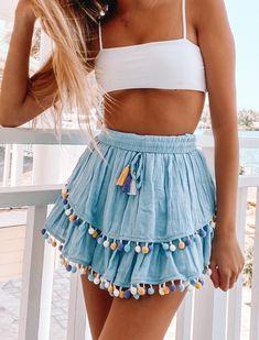 cute date outfits Preppy Outfits, Teen Fashion Outfits, Cute Summer Outfits, Girly Outfits, Cute Casual Outfits, Outfits For Teens, Spring Outfits, Women's Fashion, Korean Fashion