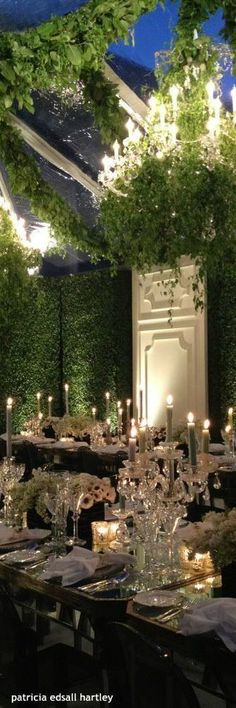Garden party tablescapes style 51 ideas for 2019 Garden Party Decorations, Wedding Decorations, Evening Garden Parties, Black Tie Affair, Beautiful Table Settings, Garden Party Wedding, Marquise, Trendy Wedding, Wedding Ideas