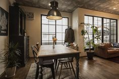 Oversized Mirror, Brooklyn, Dining, Interior, Room, House, Furniture, Home Decor, Bedroom