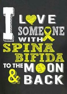 October is spina bifida awareness month!!