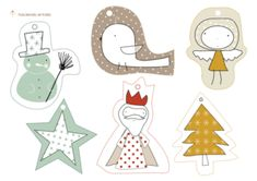 Beautiful Christmas Gift Tags That Are Free to Print: Free Holiday Gift Tags at Haciendo El Indio Noel Christmas, All Things Christmas, Christmas Crafts, Christmas Labels, Free Printable Christmas Gift Tags, Holiday Gift Tags, Printable Tags, Free Printables, Free Gift Cards
