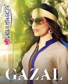 Cotton designer semi stitched salwar kameez collection GAZAL. For more detail write us on contact@talrejas.com