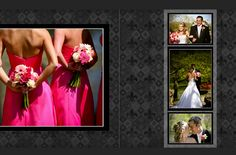 Elegant wedding photobook layout - step by step guide using Momento software