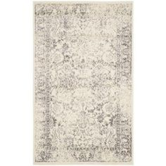Safavieh Adirondack Ivory/Silver 3 ft. x 5 ft. Area Rug - ADR109C-3 - The Home Depot