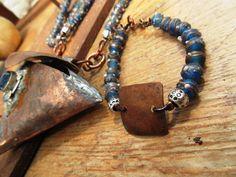 Une parure médiévale elfique collier et par annemarietollet sur Etsy