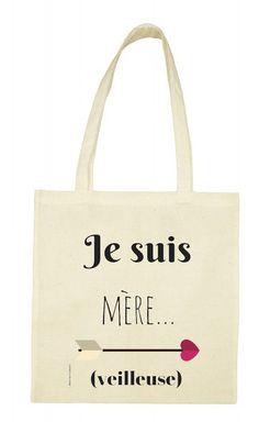 Voici ce que je viens d'ajouter dans ma boutique #etsy : Sac Tote bag en coton naturel : Je suis mère (veilleuse) https://etsy.me/2I8WPR7 #sacsetpochettes #beige #sac #totebag #lilietmacreations #naturel #bag #personnalise #happy
