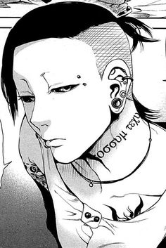 Uta. I grinned so hard when this picture came up in the manga! Also, I totally thought he was a woman for the first three pages or so x)