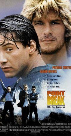 Point Break Movie Poster 27 X Patrick Swayze, Keanu Reeves, C, Licensed Point Break Movie, Point Break 1991, Movies Point, Film Movie, Film D'action, Peliculas Audio Latino Online, Peliculas Online Hd, Keanu Reeves, Movies To Watch