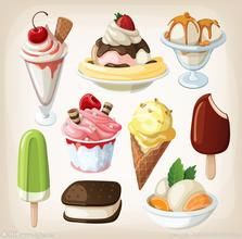 A collection of four beautiful vector food clip art sets with tasty dishes, pastries, chocolate sweets and ice-cream images. They can be used for nice food Vector Food, Food Clipart, Vector Vector, Vector Design, Design Art, Vector Graphics, Gelato, Ice Cream Images, Tasty Ice Cream