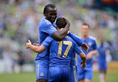 chelsea fc New Boys Moses and Hazard