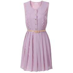 Great Gatsby Glamour Dress (Lilac) ($74) ❤ liked on Polyvore featuring dresses, vestidos, day dresses, платья, purple flapper dress, gatsby dress, flapper dress, flapper style dress and vintage style dresses