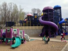 Hyland Park play area (Chutes and Ladders Park) - Bloomington, MN