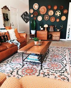 Not pictured: A boppy lounger, pack 'n play, activity gym and sit-me-up floor se. - Design Cointrend News Small Living Rooms, New Living Room, Home And Living, Accent Wall Colors, Machine Washable Rugs, Floor Seating, Interior Design, Design Interiors, Play Activity