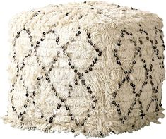 100  Best Farmhouse Ottomans! Discover the top-rated rustic ottomans and country ottomans for your farm home. Moroccan Decor Living Room, Knitted Pouf, Square Pouf, Moroccan Wedding, Lounge, Leather Pouf, Creative Co Op, Tufted Ottoman, Living Room Seating