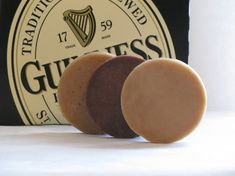 Beer Soap - Guinness Stout Suds Sampler - Gifts For Men - Handmade Beer Soap - All Natural $7