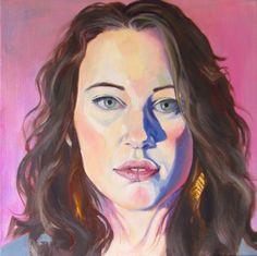 """Chiara"" 2015. Oil on canvas. 12x12"""